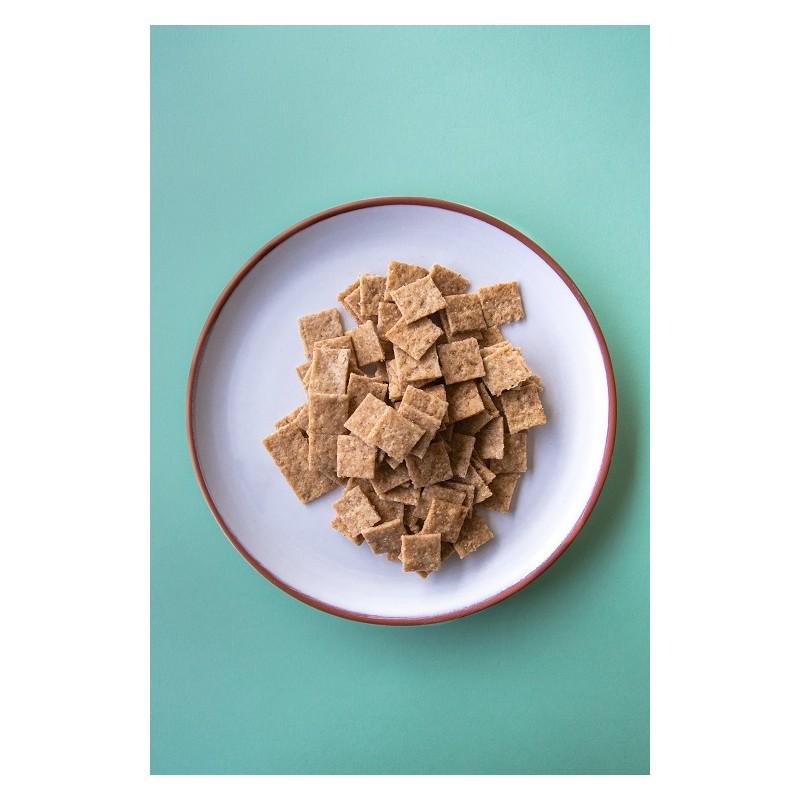 Biscuits échalotes - 100 gr - Bio, Végan & Local