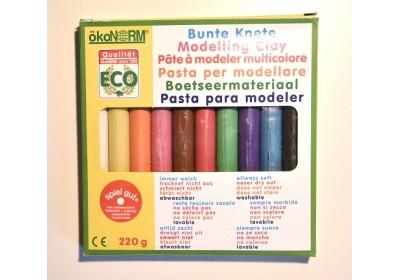 Sachet 10 couleurs pâte à modeler