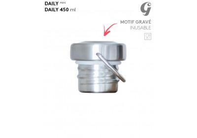 Bouchon Inox - Gourde Daily mini / 450 ml