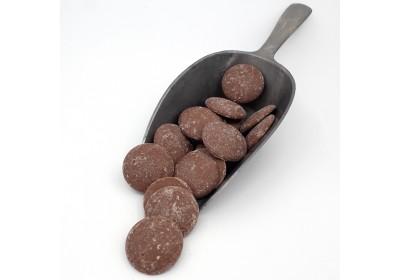Chocolat au lait en palets - 100 gr - Bio