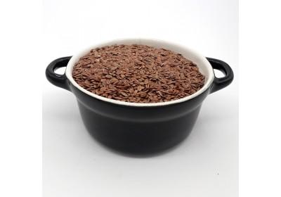 Graines de lin brun - 100 gr - Bio