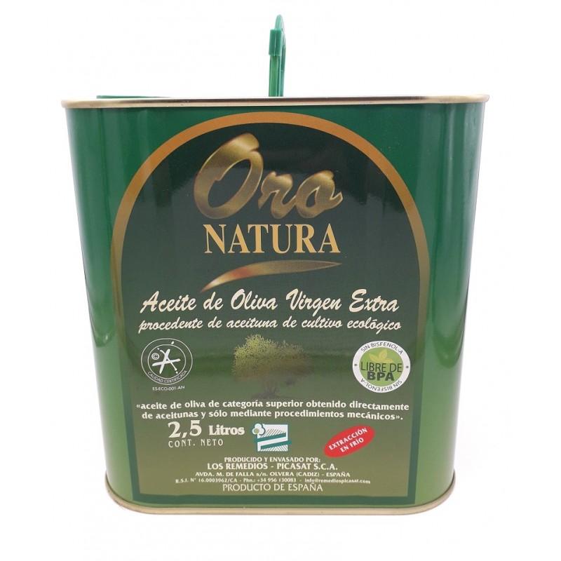 Huile d'olive - Bidon 2,5L - Bio