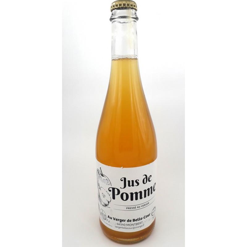 Jus de pomme - Bio & Local - Les vergers de Belle Cour (75cl)