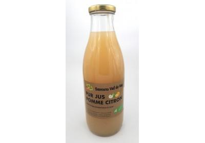 Jus de pomme, citron - Bio & Local - Les saveurs du Val de Vay (1L)