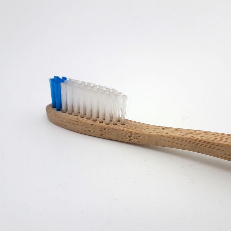 Brosse à dents en bambou - adulte - souple
