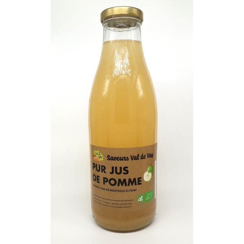 Jus de pomme - Bio & Local - Les saveurs du Val de Vay (1L)
