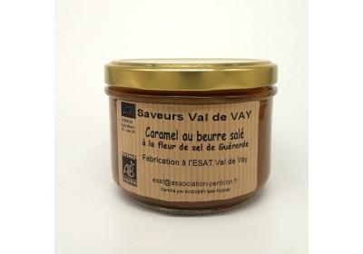 Caramel au beurre salé - Bio & Local (Pot 260 gr consigné)