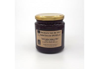 Gelée extra de groseilles - Bio (Pot 360 gr consigné)