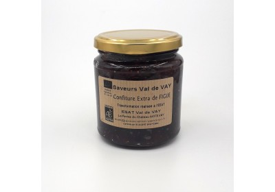 Confiture de Figues - Bio & Local (Pot 360 gr consigné)