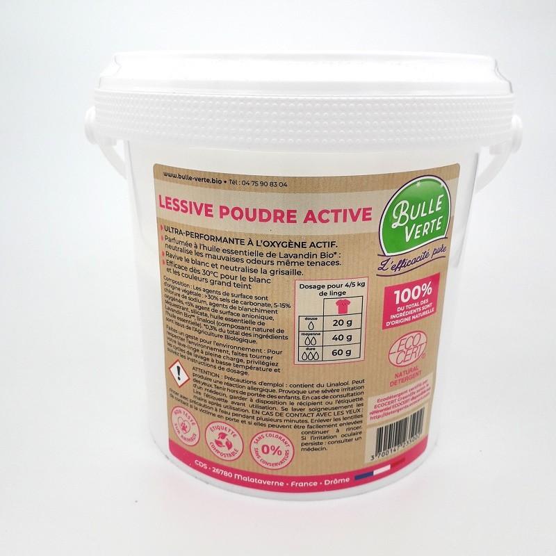 Lessive Poudre Active - 1 Kg (avec consigne)