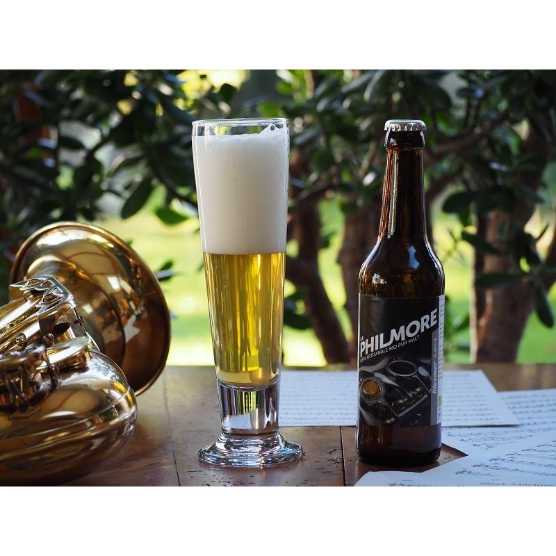 Bière Klezmer (Blanche - Philmore) - Bio & Local (33 cl)