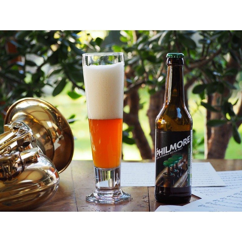 Bière Jazz (Blonde - Philmore) - Bio & Local (75 cl)