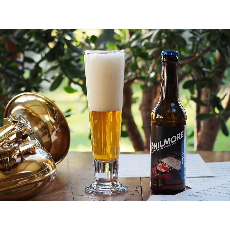 Bière Britpop ( blonde London Bitter - Philmore) - Bio et Local (75cl)
