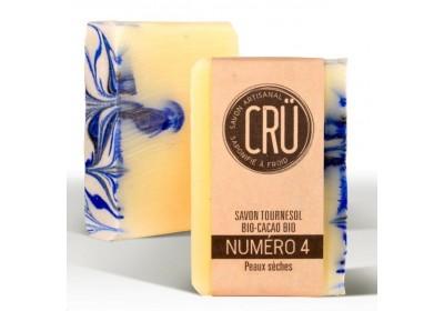 Savon Tournesol Cacao - Crü - 100 Gr