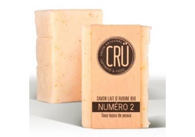 Savon lait d'avoine Bio - Crü - 100 Gr