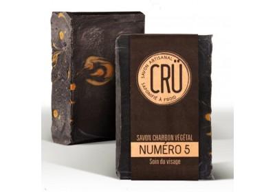 Savon Charbon Végétal - Crü - 100 Gr
