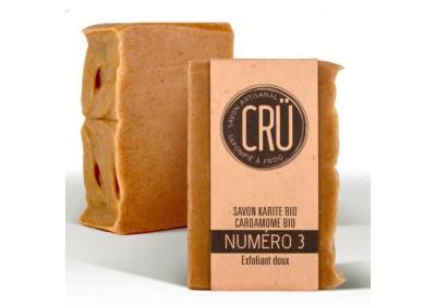 Savon Karité Cardamome Bio  - Crü - 100 Gr