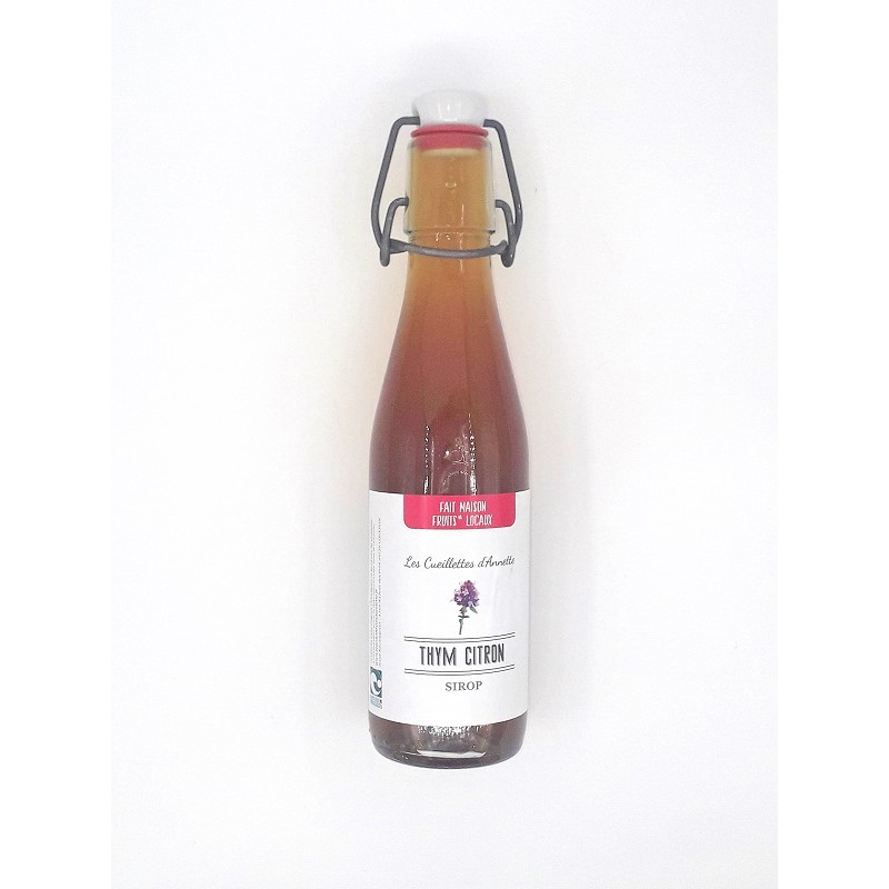 Sirop Thym Citron - Nature & Progrès - Local - 25 cl