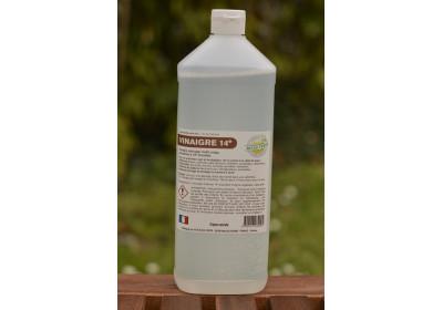 Vinaigre naturel 14° - bouteille 1L (consignée)