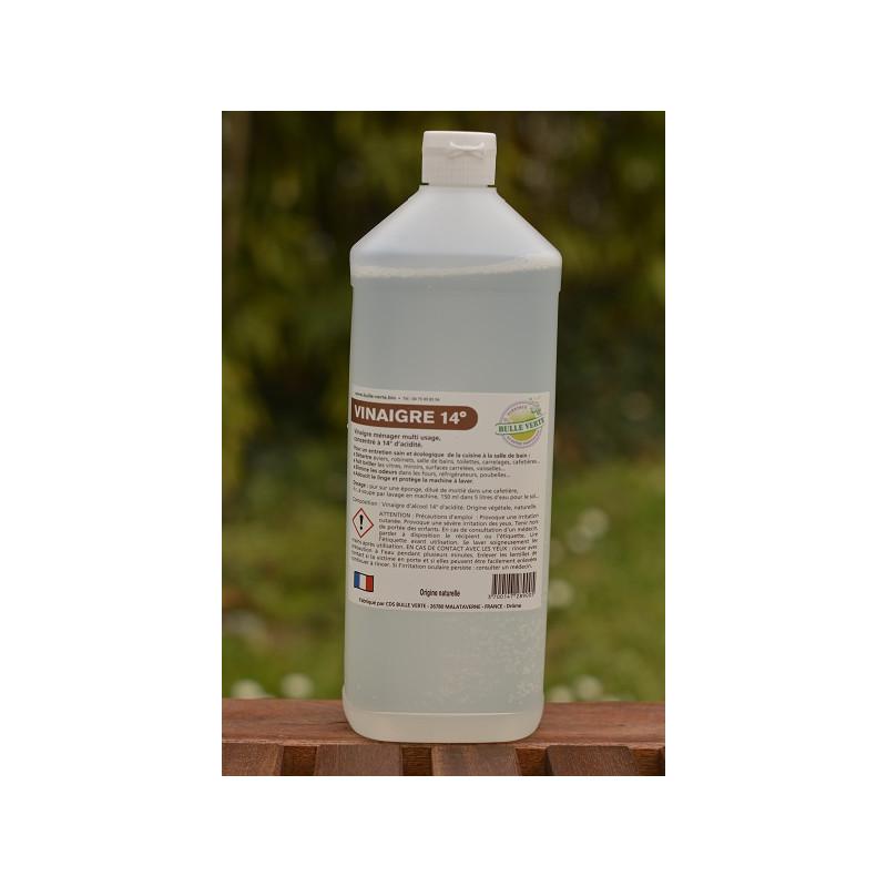 Vinaigre naturel 14°  (bouteille consignée)