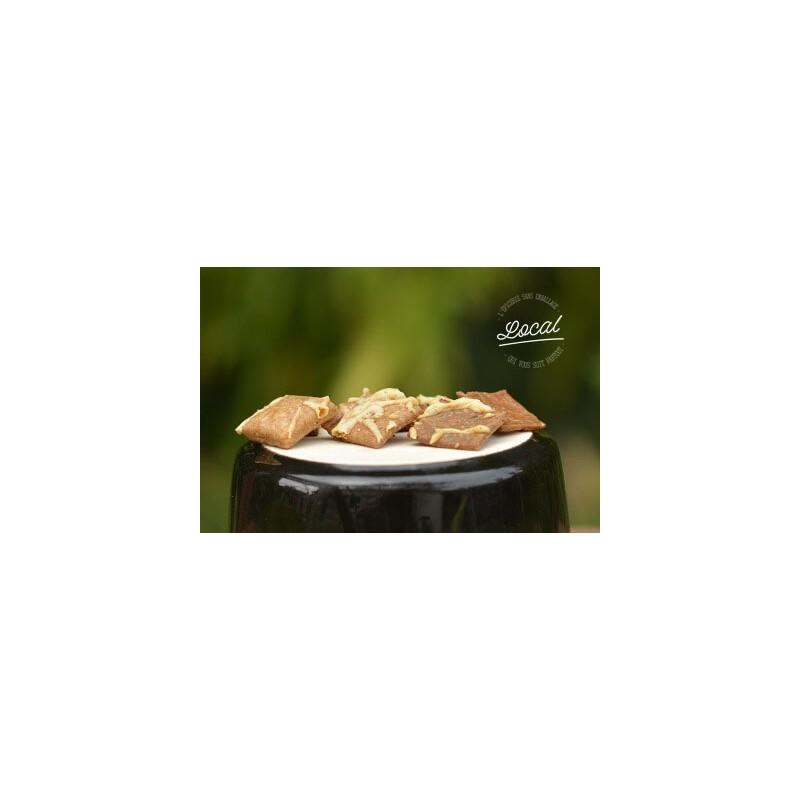 Crackers paysans Cumin-Emmental