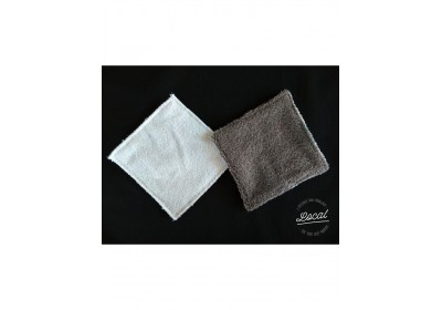 Lavette coton bio et microfibre