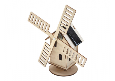 Moulin à vent solaire, maquette à monter
