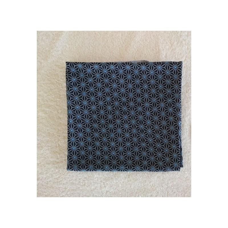 Furoshiki Cadeau noir - taille : 58x58