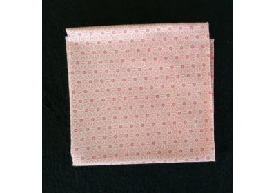Furoshiki Cadeau rose - taille : 58x58