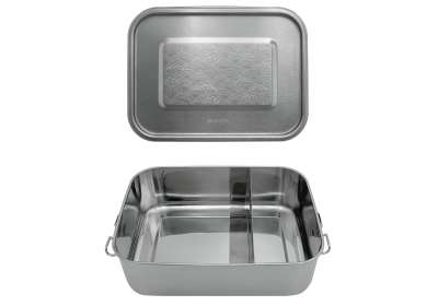Lunch box inox