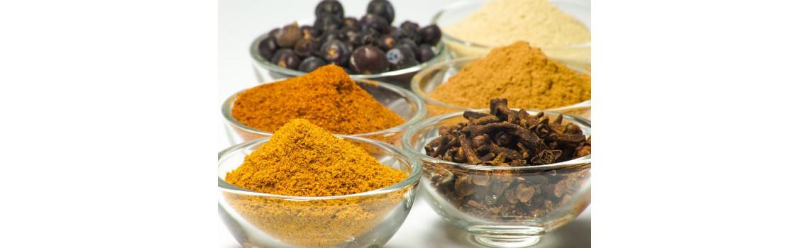 Epices, graines et condiments