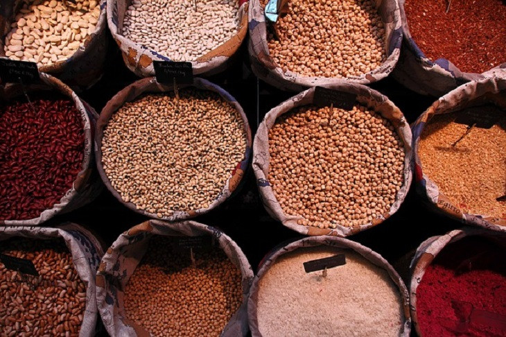 Légumineuses, pâtes et riz